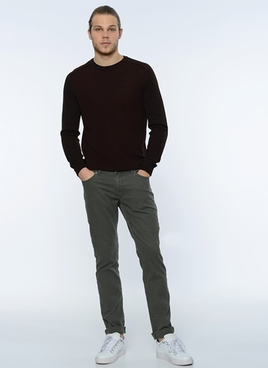 George Hogg Slim Fit Chino Pantolon Yeşil